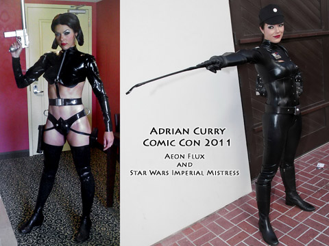 Aarkeybabble : Imperial Mistress Adrianne Curry could command me anyday!