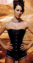 Aarkeybabble : Evangeline Lilly oh so yummy when properly corsetted