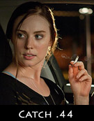 Aarkeybabble : Deborah Ann Woll - smoking and sweaty in Catch 44