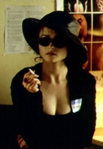 Aarkeybabble : Helena Bonham Carter as the super sexy smoking hot Marla