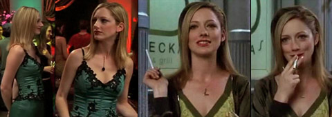 Aarkeybabble : Judy Greer looking smoking hot and teasing us.