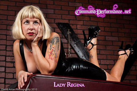Aarkeybabble : The Lovely Lady Regina, Headmistress of Command Performance Dungeon - Ft. Lauderdale, Florida