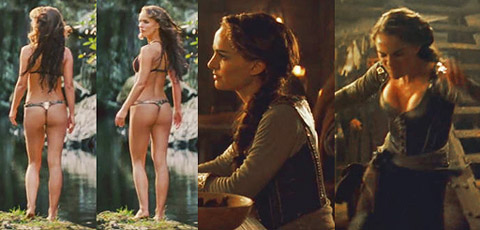 Aarkeybabble : Natalie Portman in chastity - I wonder if she really tried to get into character and kept it on for more than just that scene.