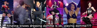 Aarkeybabble : Rhianna - is she a real domme?