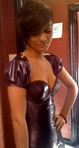 Aarkeybabble : Frankie Sandford + Latex = Win