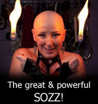 Aarkeybabble : Mistress Saskia - the great and powerful Sozz!
