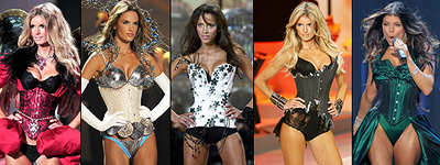Aarkeybabble : Finally, real corsets from VS - none of that silly wimpy junk to push on the mainstream.