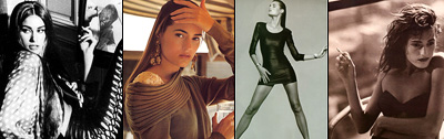 Aarkeybabble : Yasmin Le Bon - so totally smoking hot that it just hurts.