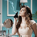 Aarkeybabble: Models Anti-Smoking Pictures