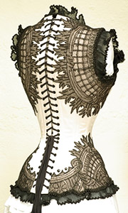 Aarkeybabble : Arachnoidea and the most detailed corset ever