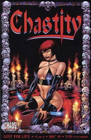 Aarkeybabble : Chastity Comic - this one is called lust for life. Rather apropos I thought.