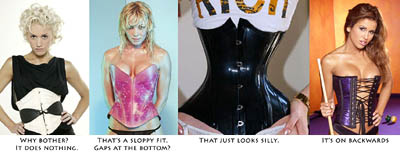 Aarkeybabble : But just wearing a corset does not guarantee anything
