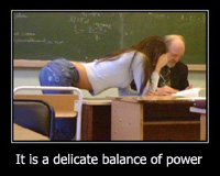 Aarkeybabble : Students & Teachers - a delicate balance of power