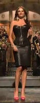 Aarkeybabble : In heaven, I'm pretty sure Sofia Vergara wears a corset and a tight leather skirt too!