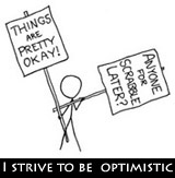 Aarkeybabble : Optimism isn't always easy