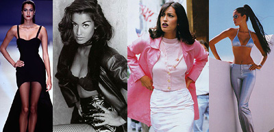 Aarkeybabble : Yasmeen Ghauri - she gives great Hand on Hip